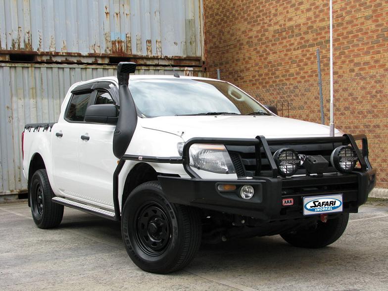 Шноркель Safari для Ford Ranger с 08.11+, правая сторона