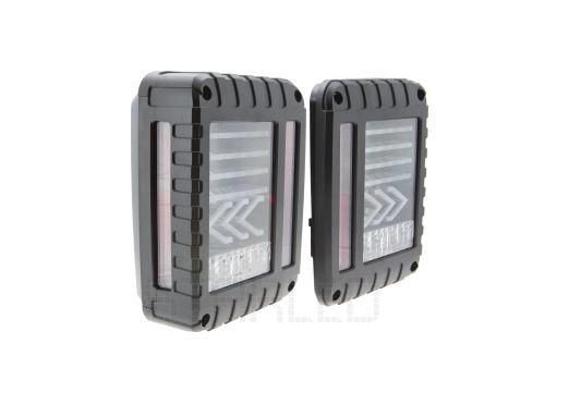 Задние фонари Starled для Jeep Wrangler светодиодные